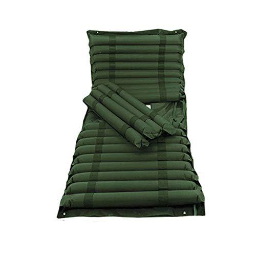 Anti-llagas colchón inflable doble ciclo de gas fluctuación solo hogar Flip Bedsores almohadilla de aire BEDSORE cojín,Green,200x90cm