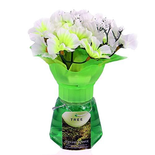 ETL Ambientador - Ramo de Flores - Esencia del té Verde - Perfume de Primavera - Recargable con Agua perfumada o aceites Esenciales