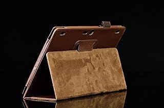 Funda Caso para Lenovo Tab 2 A10-70F 10.1 Pulgadas Smart Cover Slim Case Stand Flip (Marrón) NUEVO