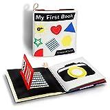 BeebeeRun Stoffbuch für Babys,Soft-Bilderbuch Baby Buch,Babyspielzeug Geschenke für Kleinkind Neugeboren
