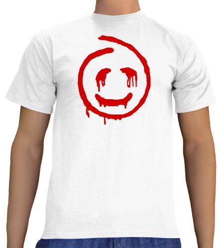 Touchlines Unisex/Herren T-Shirt Red John - The Mentalist, White, XL, B1754