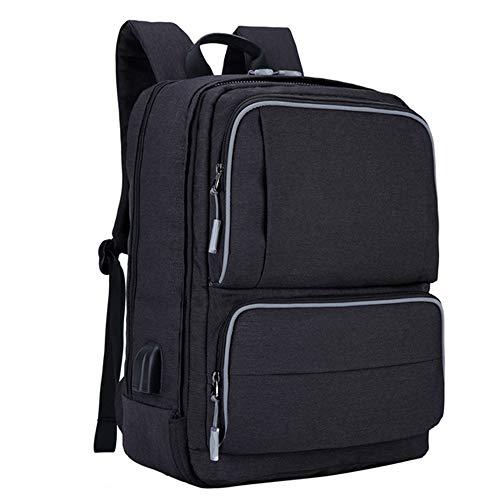 CITK 17 Inch Laptop Rugzak, Grote Zakelijke Tassen met USB Opladen Poort, Waterafstotende School Tas Past Outdoor Camping Wandelen Fietsen Klimmen