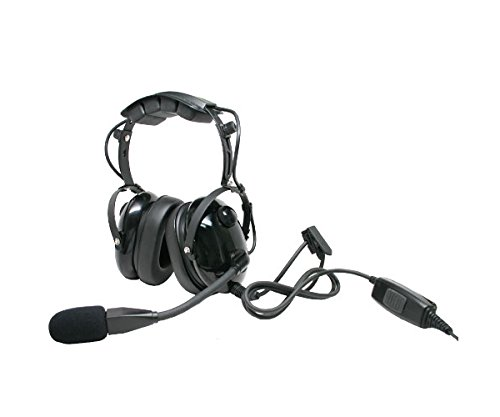 Lowest Price! ARC T26045 Heavy Duty Earmuff Headset for Motorola XTS MTX PR HT JT MT Two Way Radios ...