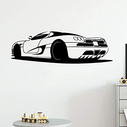 Coche deportivo coche deportivo de lujo coche deportivo pegatinas de pared decoración del dormitorio del niño habitación de regalo para niños decoración de la pared del aula creativa
