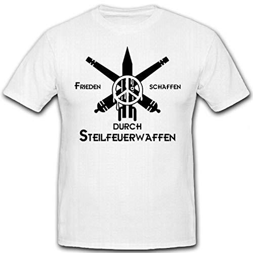 Crear la paz mediante artillería de armas de fuego de Steilfeuerwaffen-Artillerie Mortero...