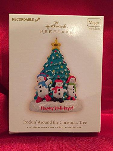 Hallmark Ornament 2009 Rockin Around the Christmas Tree Recordable