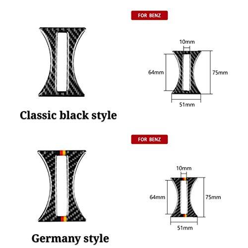 Shenyuan-Accessories & Parts Carbon Fiber Car accessoires Interieur Cup Hoder Decor Auto Sticker for Mercedes een Klasse CAO 2013-2018 GLA 2015-2018 (Color Name : Classic Black Style)