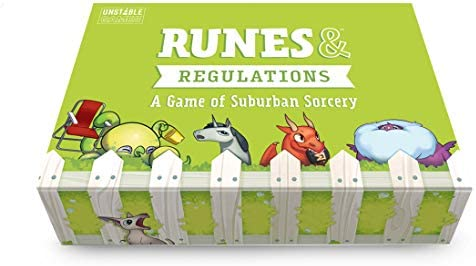 TeeTurtle Runes Regulations Card Game from The Creators of Unstable Unicorns A Strategic Card product image