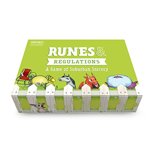 Runes & Regulations Card Game - from The Creators of Unstable Unicorns - A Strategic Card Game & Party Game for Adults & Teens