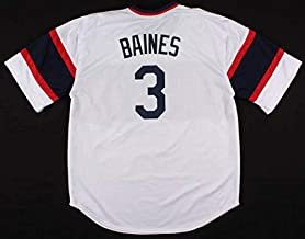 Harold Baines Autographed Signed Chicago White Sox Jersey With 4 Inscriptions JSA Holo