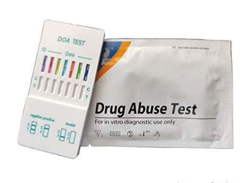 Drogen Test-Kit - 7 in 1 Drogen getestet - Kokain, Heroin, Cannabis, Ecstasy, Speed, Methadon, Crystal Meth