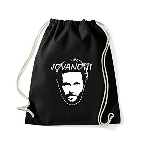 Art T-shirt, Zaino Sacca Jovanotti, Nero