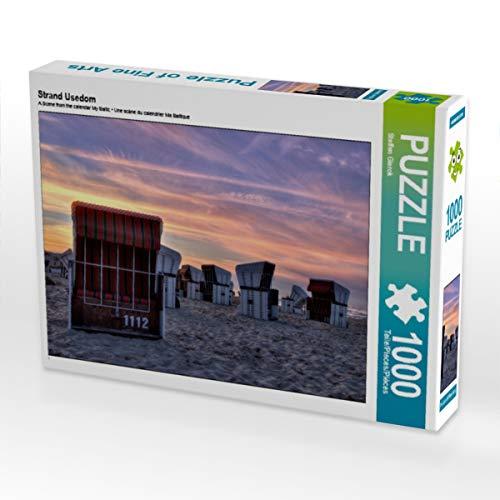 CALVENDO Puzzle Strand Usedom 1000 Teile Lege-Größe 64 x 48 cm Foto-Puzzle Bild von Steffen Gierok ; Magik Artist Design
