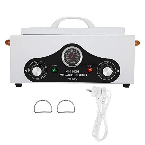 Hoge-temperatuur-nagelgereedschapskast, schoonheidssalon-handdoek-spa-instrument, barbershop-schaarreinigingsgereedschap. EU Plug 220V