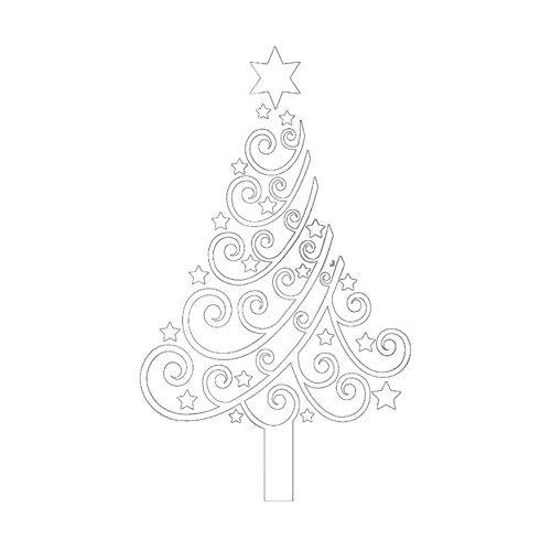 Demarkt 1 Pcs Sticker Mural de Sapin de Noël Sticker décoratif de vitrine de Mur en Verre de Mur de Noël Amovible(Blanc) 100 * 60cm