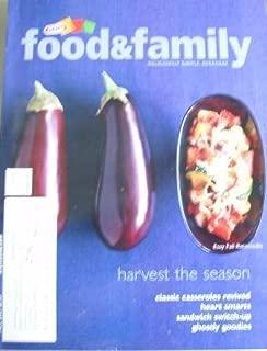 Magazine Kraft Food and Family (Harvest the Season, Fall 2003)