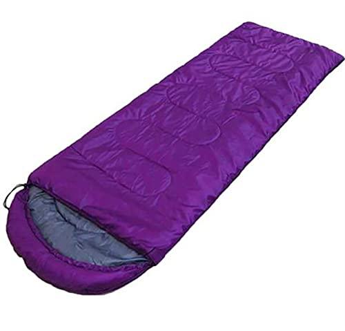 WXYNT Bolso para Dormir de Camping de Algodón, Bolsos de Dormir de Camuflaje con Cremallera, Estilo de sobre al Aire Libre Cálido Viaje de Senderismo (Color : A)
