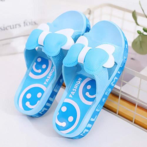 TDYSDYN Hombre Baño Sandalias de Punta,Zapatillas de baño de Suela Gruesa, Zapatillas de baño Antideslizantes-Cielo Azul_40