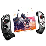 Winkeyes Mobile Gamepad Wireless Moblie Game Controller Retractable Bluetooth Gaming Controller Support Android 6.0 & iOS11.0 or Above, Android iOS Mobile Phone Tablet/Smart TV