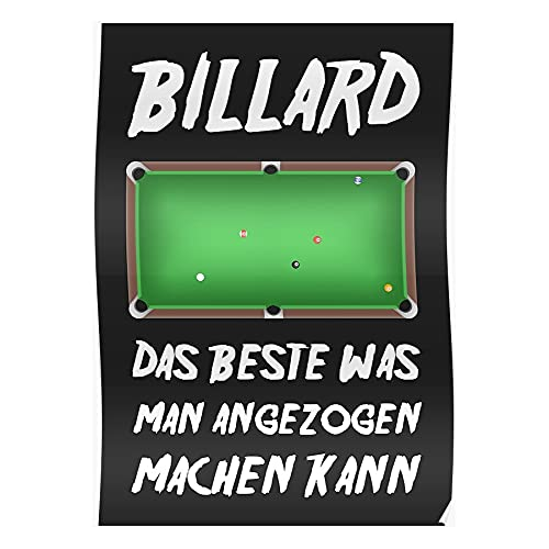 Ball Billiards Saying Idea Billiard Christmas Queue Quality Funny Say Snooker The High Best Table Pool Forced Birthday 8Ball Mothers Attracted Fathers Day Unique Design for Home Decoration