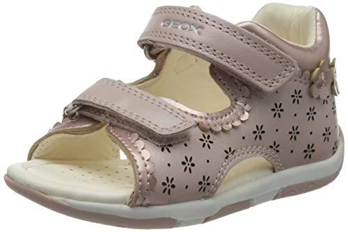 Geox Baby-Mädchen B TAPUZ Girl A Sandalen, Pink (Dk Rose C8007), 24 EU