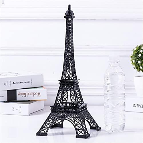 Chaobing Torre Eiffel Modelo de Arte Artesanal Adornos de Modelo -Figurines Pieza Decorativa para Dormitorio, Sala de Estar, estantería, Mesa o Pantalla de televisión (Number : Number4)