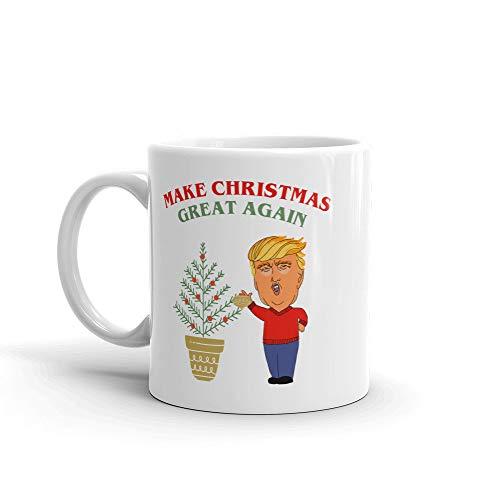 Thomas655 grappige koffiemok Maak je kerst weer groot koffiemok Maak je sarkastische schaal van het grote vakantiegeschenk Amerika
