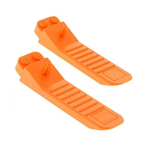 2 x Lego System Steinlöser orange Stein Trennhilfe Trenner Werkzeug Steinetrenner Brick Separator 96874