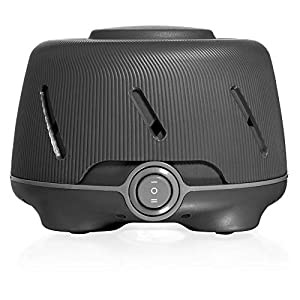Yogasleep Dohm (Charcoal) | The Original White Noise Machine | Soothing Natural Sound from a Real Fan | Noise Cancelling | Sleep Therapy, Office Privacy, Travel | For Adults & Baby | 101 Night Trial