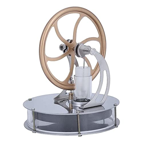 ATIN High & Low Temperature Stirling Engine Steam Heat Education Model Toy