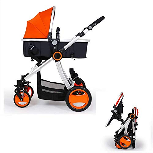 Great Deal! ZXF5 Sibling Baby Stroller, Babies and Toddlers, Side by Side Ultralight Foldable Child ...