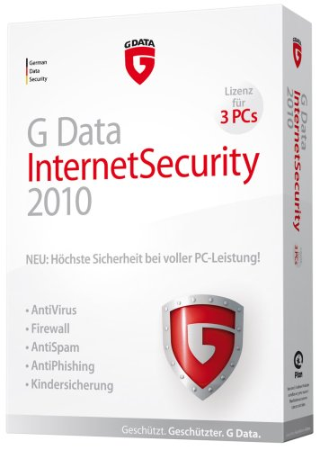 G Data internet security 2010 (3 postes, 1 an) [import allemand]