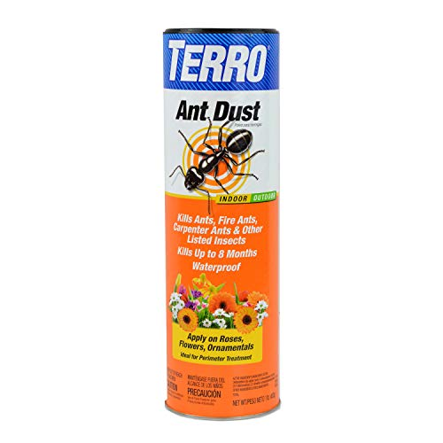TERRO T600 Ant Dust - Kills fire ants, carpenter ants, cockroaches, spiders
