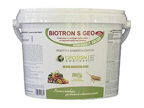 Geosism & Nature Leonardite, conditionneur de Sol végétal Naturel 0/5 mm (Biotron S) (1 kg)