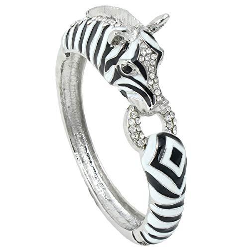 Art Deco Zebra Bracelet