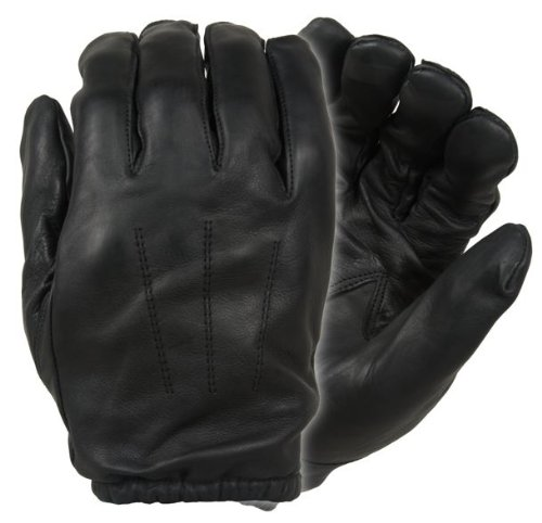 Damascus DFK300 Frisker K Leather Gloves with Kevlar Cut Resistant Liners, Medium