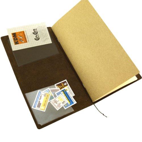 トラベラーズノートレギュラー/パスポート兼用リフィル【ポケットシール004】14248006