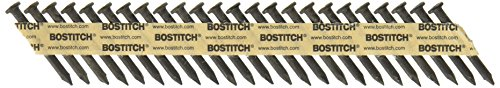 BOSTITCH Framing Nails, Paper Tape Collated, Metal Connector, 1 1/2-Inch x .148-Inch, 1000-Pack (PT-MC14815-1M)