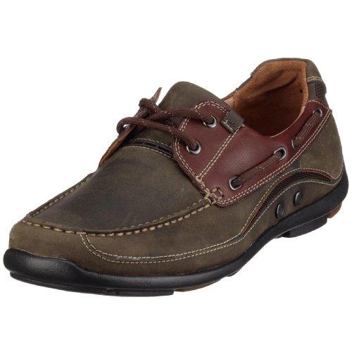 Clarks - Zapatos de Cordones de Cuero Nobuck para Hombre