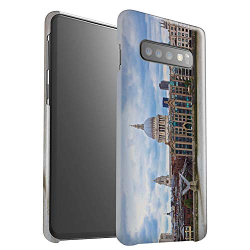 eSwish telefoonhoesje/Cover/Skin/SG-3DSWG / London Sites Collection Samsung Galaxy S10 Plus St Paul's Cathedral