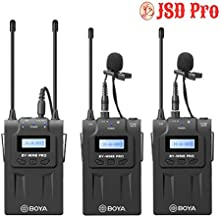 JSD Pro by-WM8 K2PRO Lapel Microphone for Action Camera, Dslrs, Mirrorless Camera