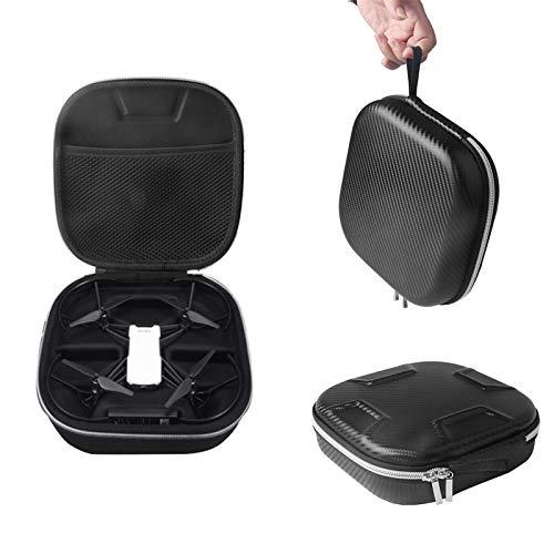 Tookss tragbare RC-Drohne, quadratische Form, Karbonfaser, Aufbewahrungstasche für Tello DJI Air Drohne One Schwarz