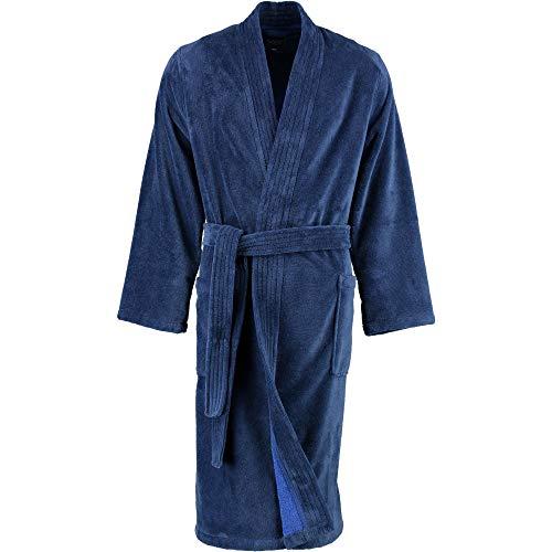 LAGO Bademantel Herren Kimono 800 Graphit - 73 L