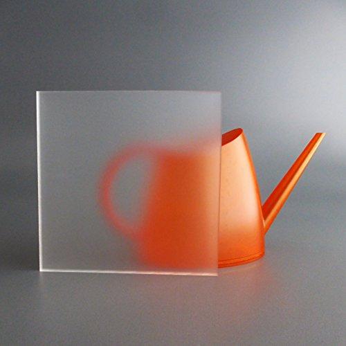 lobotec-acryl PLEXIGLAS Zuschnitt Acrylglas Zuschnitt 3-10mm satiniert - Frost - (3mm, 500 x 500 mm)