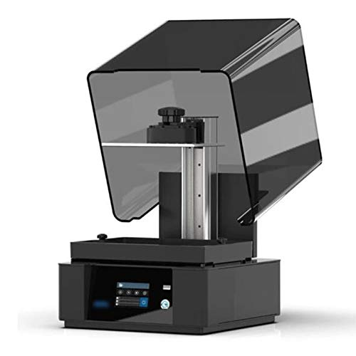 YLPDS 8.9 inch LCD 2K laser 3D photon printing large-scale architectural light bending UV resin (Color : Black)