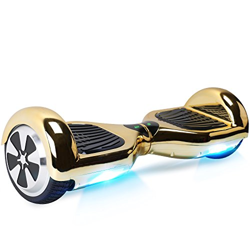 BEBK Hoverboard Bluetooth, 6.5' Self Balancing Electric Scooter with Carry Bag and LED Light, Safe Gifts UL2272 Certified for Adults and Kids