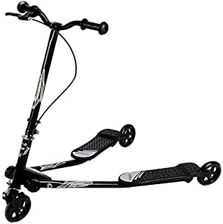 COOLBABY Y Fliker F1 Flow Kids Drifting Scooter 3 Wheels Kids Scooter Carver Drifter Foot Scooters Breaststroke Scooter Ch...