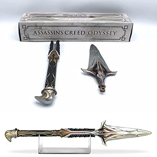 Assassin S Creed Spear Odyssey Leonidas Novena generación Assassin S Creed Hidden Blade 1: 1-9 with Sleeve Sword