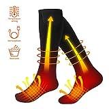 Heated Socks, Electric Socks Rechargeable Heating Socks Men Women Cotton Winter...