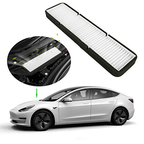 Farmogo Tesla Model 3 Air Intake Filter inlet vent accessories (white)